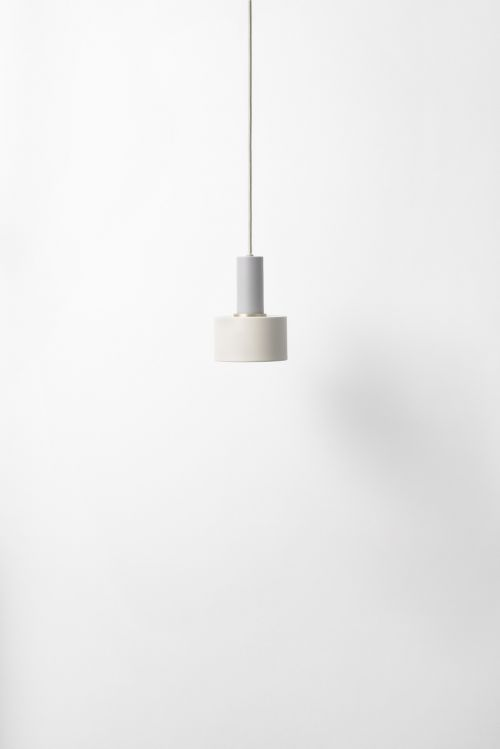 Ferm Living Disc Shade Light Grey