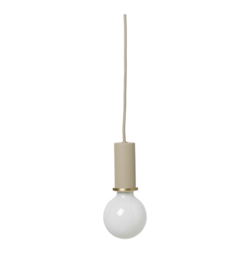 Socket Pendant Low Cashmere