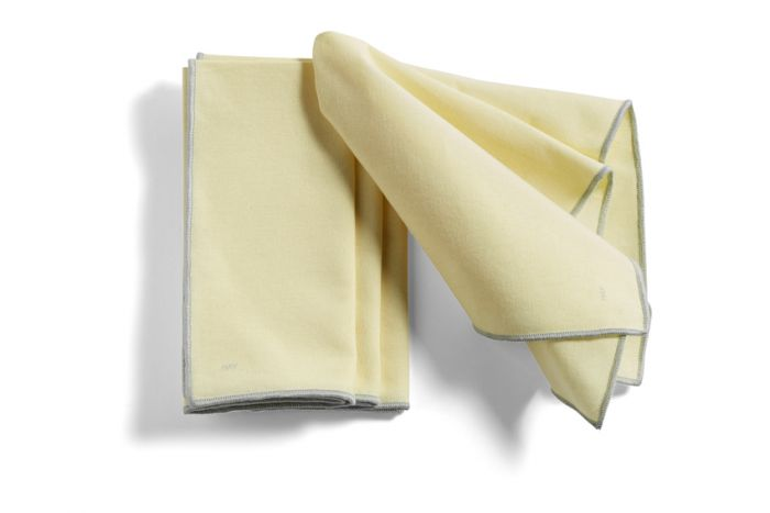 Hay Contour Napkin set of 4 Lemon