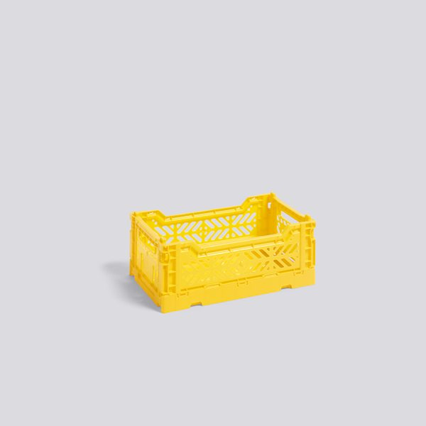 Colour crate S yellow