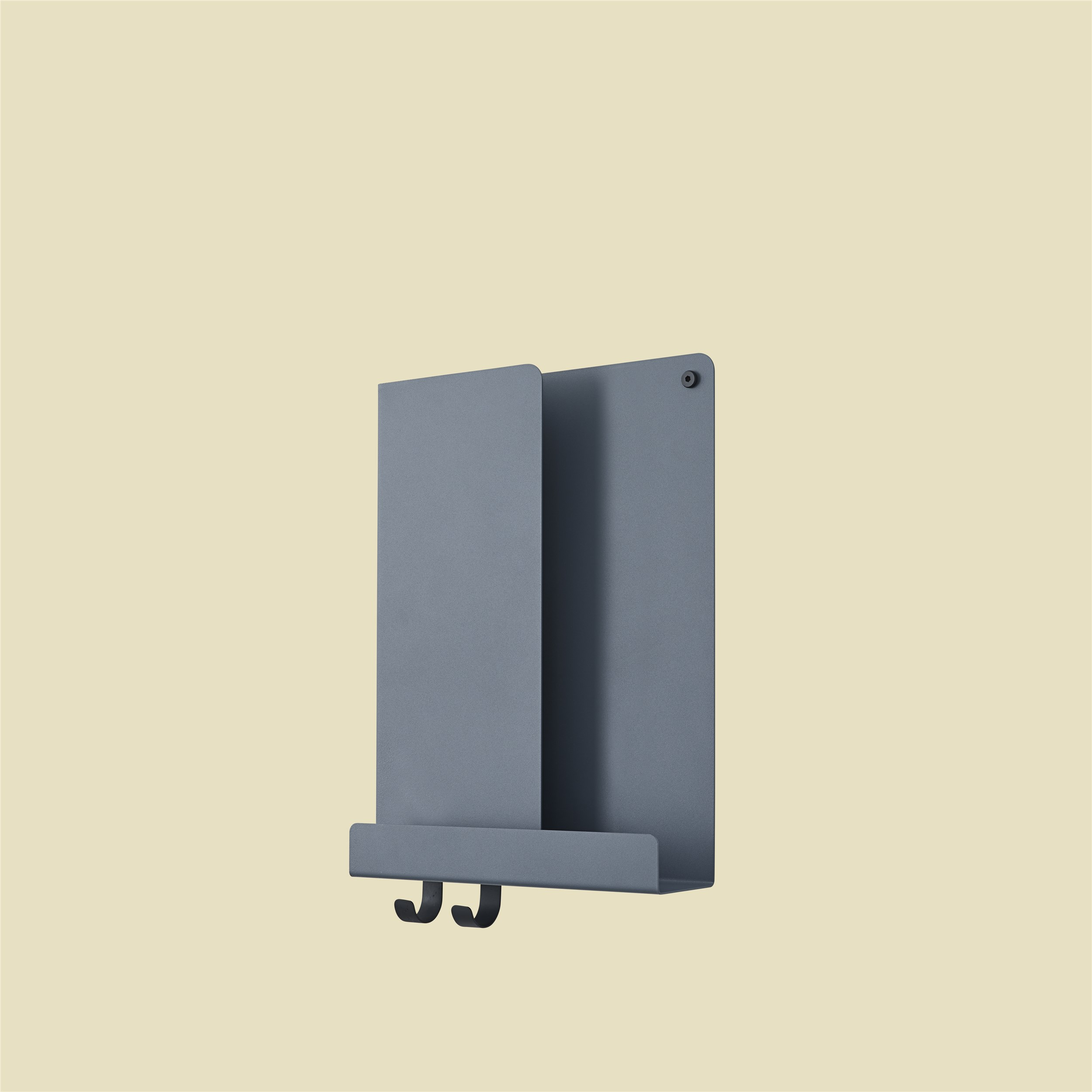 Muuto Folded Shelf Blue Grey 29,5cm