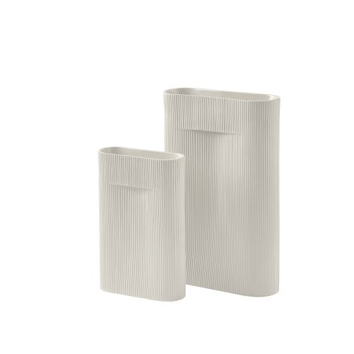 Muuto ridge vase 48,5cm off white