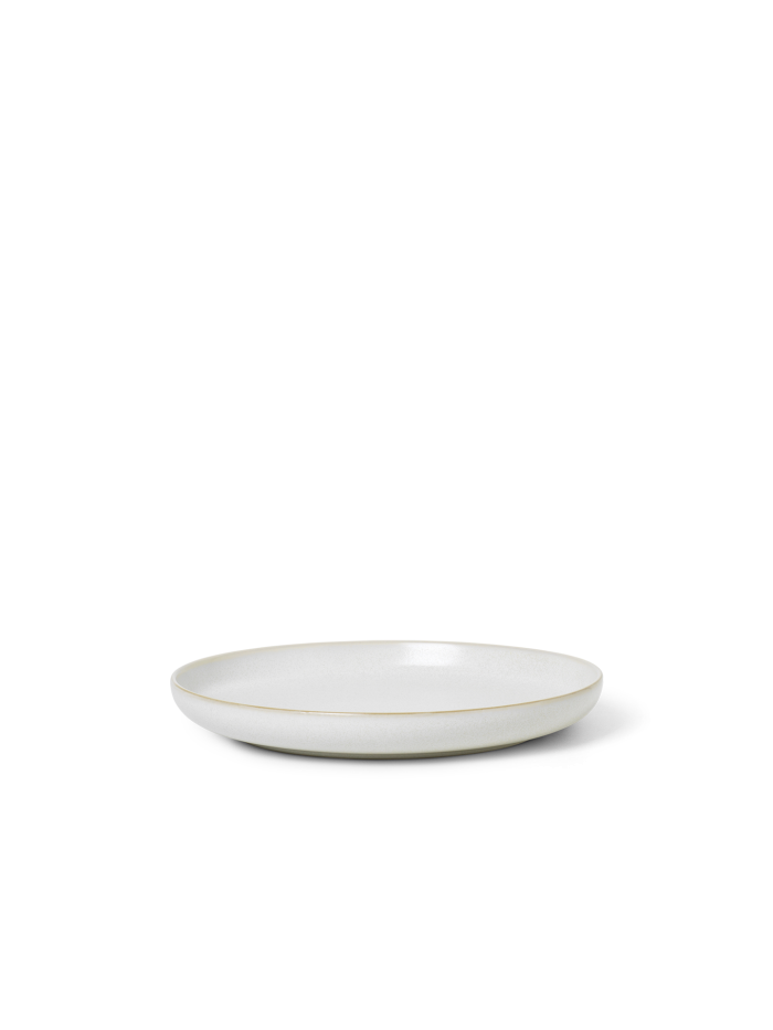 Sekki Plate - Small - Cream