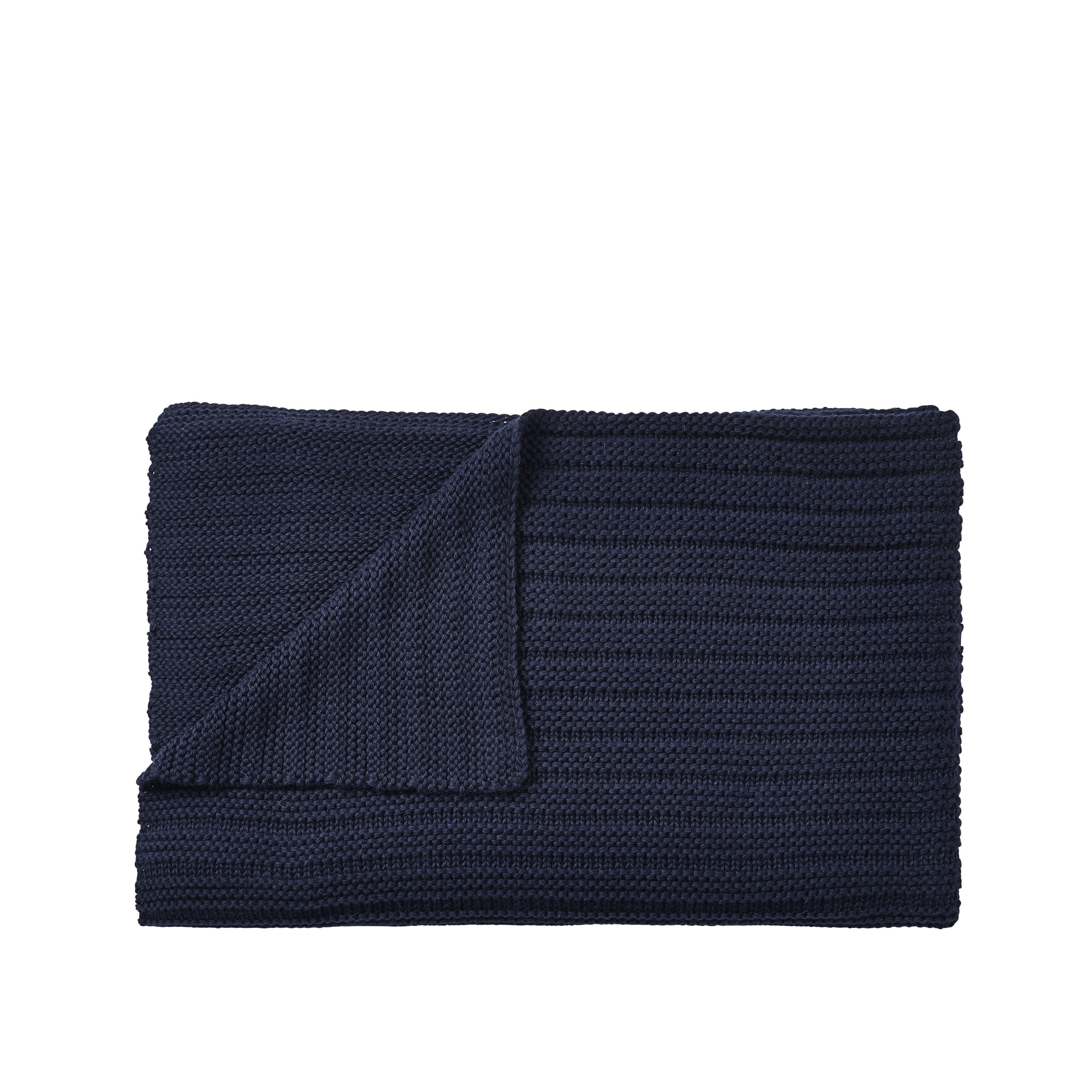 Muuto Ample Throw midnight blue