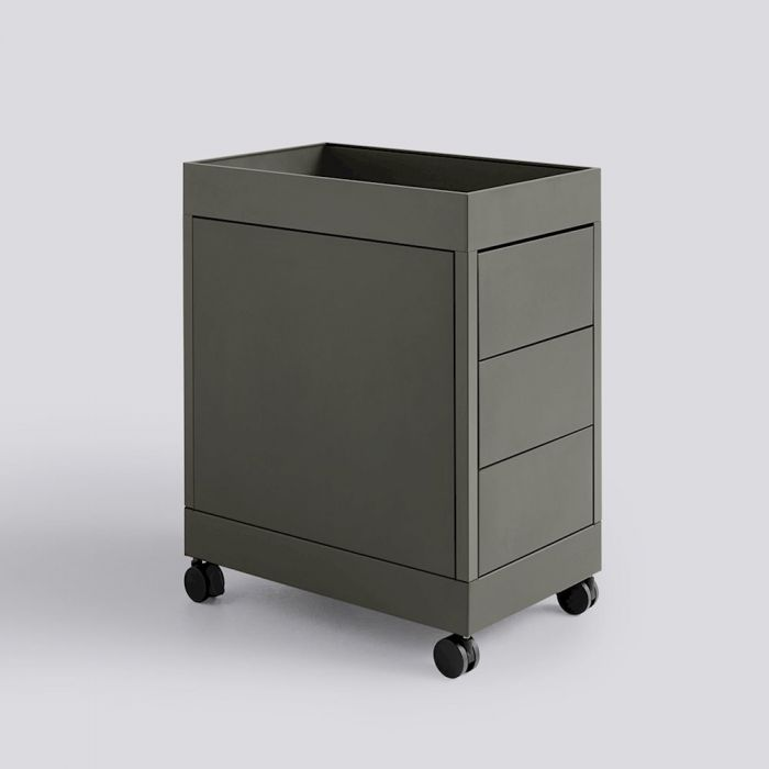 NO TROLLEY / B 3 DRAWER AND TRAY TOP INCL. LOCK ARMY