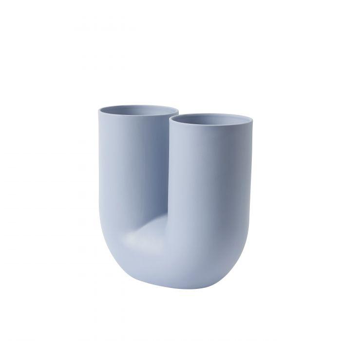 Kink vase light blue