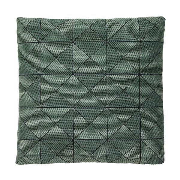 Tile cushion green 50 x 50 cm