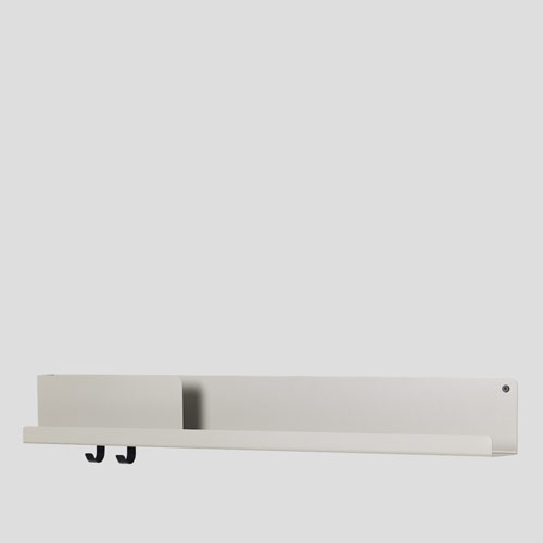 Muuto Folded Shelf Large Grey 96cm