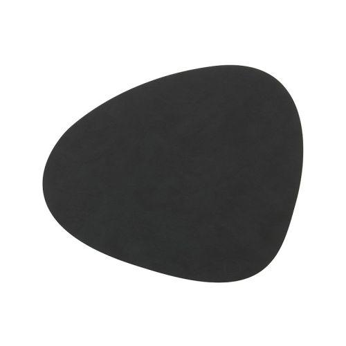 LINDDNA Placemat Curve Black