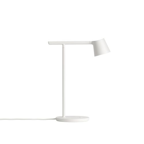 Tip table lamp white