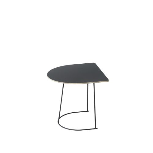Muuto Airy Coffee Table Half Size Black