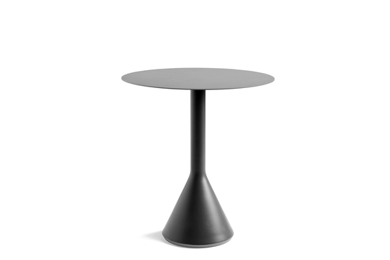 Hay Palissade Cone Table 70 Anthracite