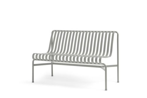 HAY Palissade Dining Bench wo Handle Sky Grey