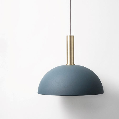 Ferm Living Dome Shade Dark Blue