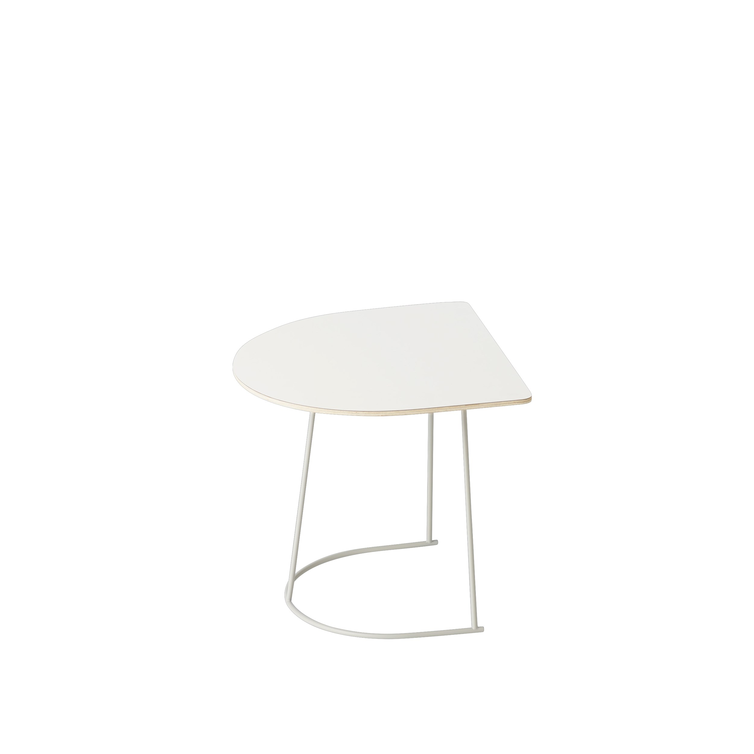 Muuto Airy Coffee Table Half Size Off-White
