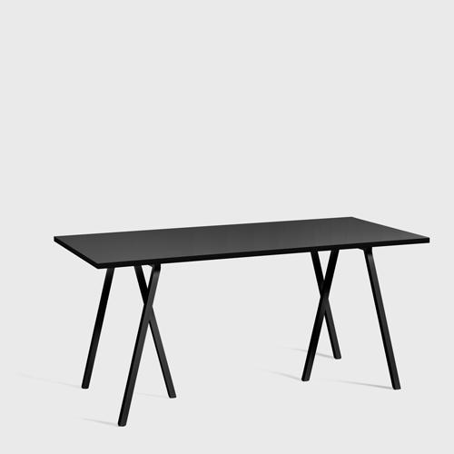 HAY Loop Stand Table black 160 cm