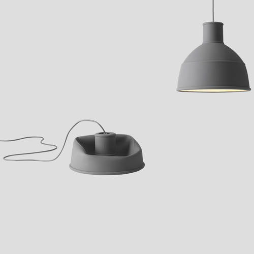 Unfold lamp Dark Grey