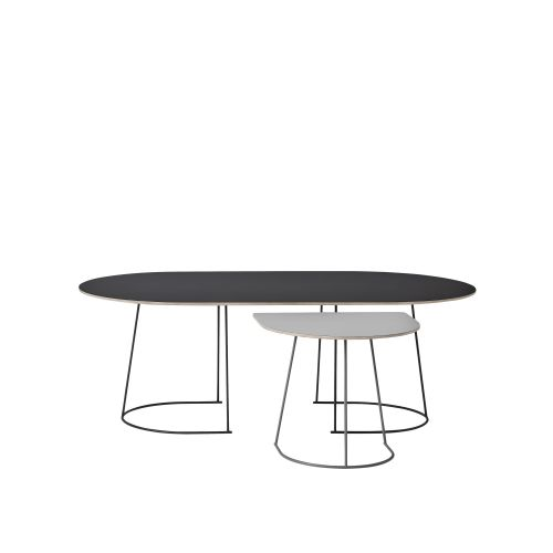 Muuto Airy Coffee Table Half Size Grey