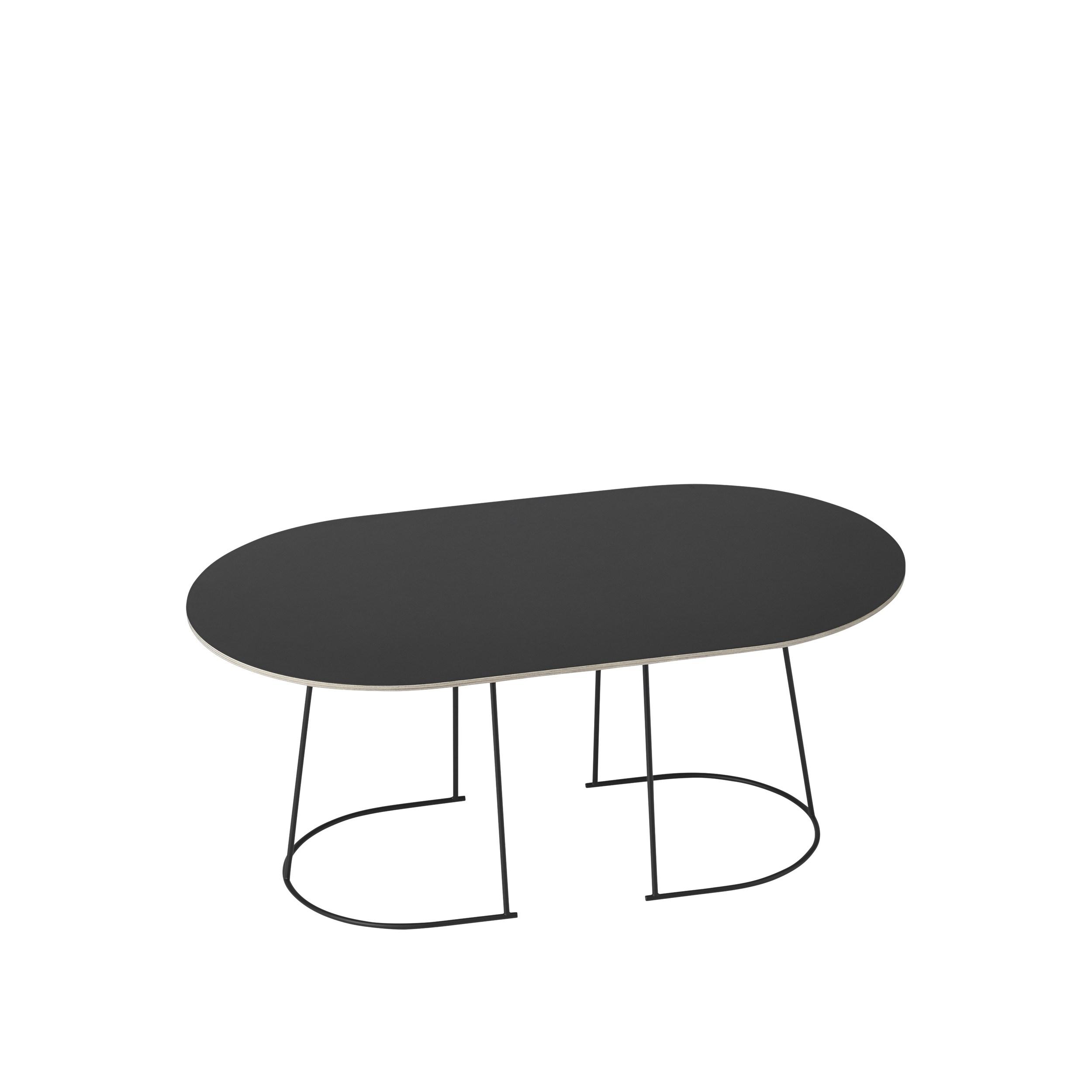 Muuto Airy Coffee Table Medium Black