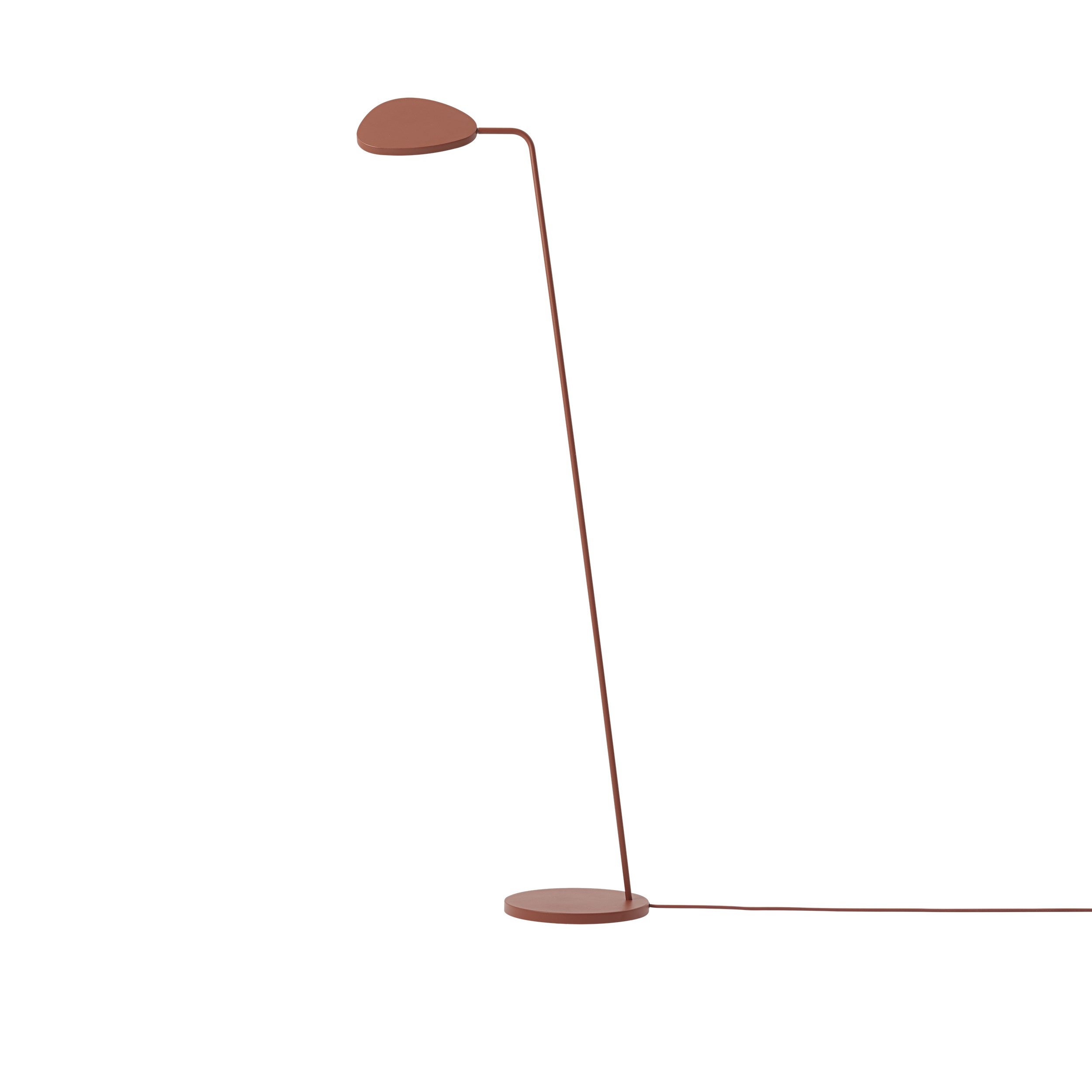 Muuto Leaf Floor Lamp Copper Brown