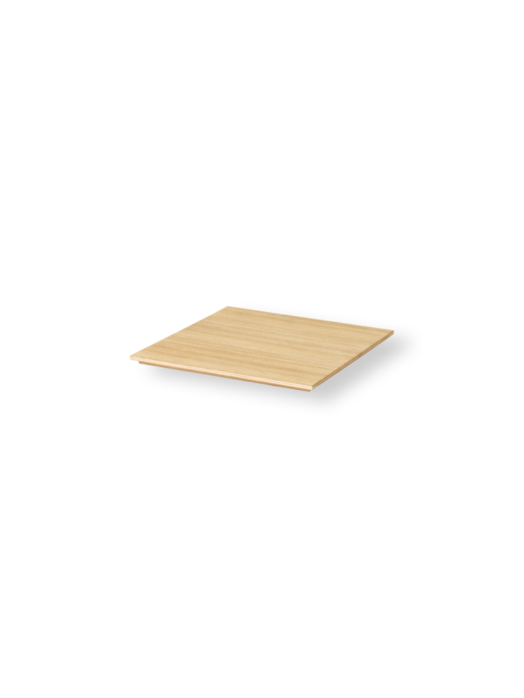 Tray for plant box oiled oak
