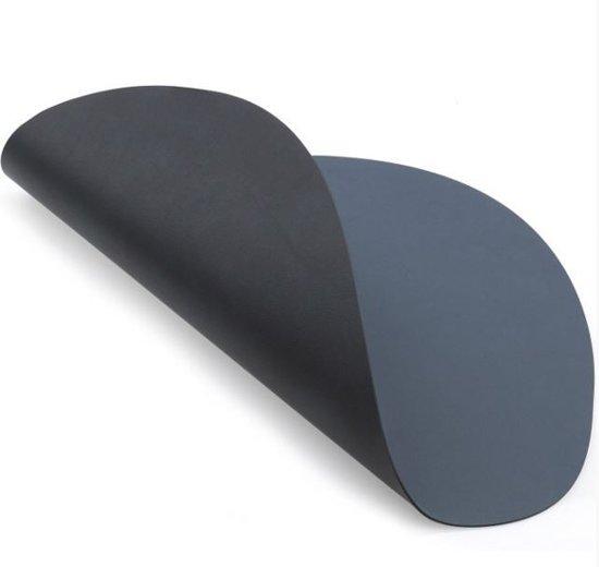 Placemat curve nupo double dark blue/black