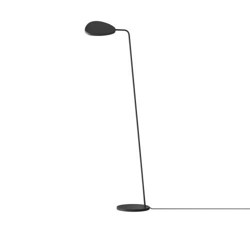 Muuto Leaf Floor Lamp Black