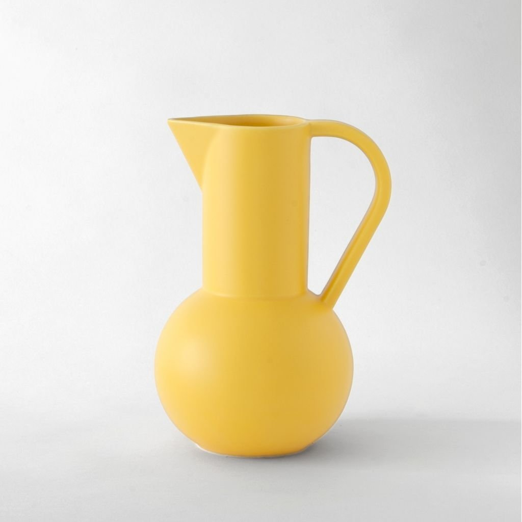 Raawii Large Jug Strøm Freesia Yellow
