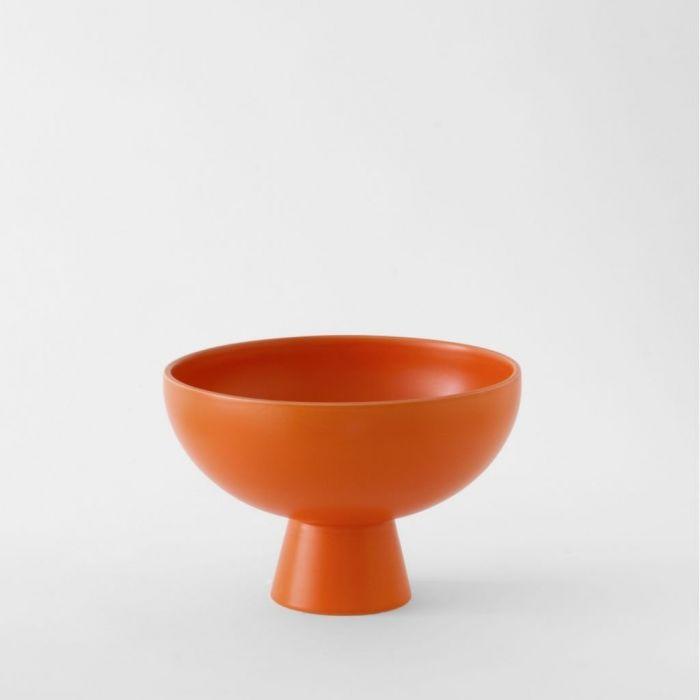 Raawii Large Bowl Strøm Vibrant Orange