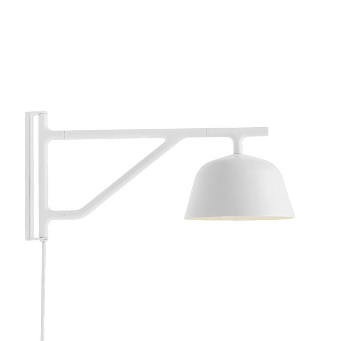 Ambit wall lamp white