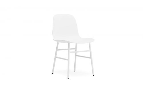 Normann CPH Form Chair Steel gestoffeerd