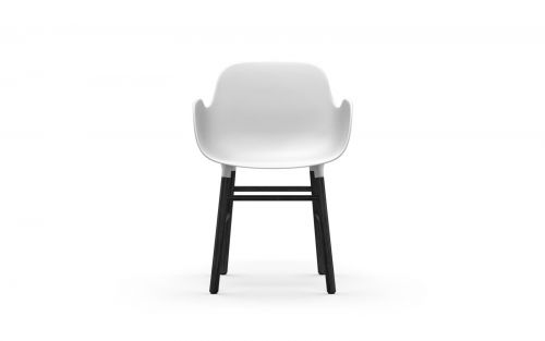 Normann CPH Form Armchair Wood Black