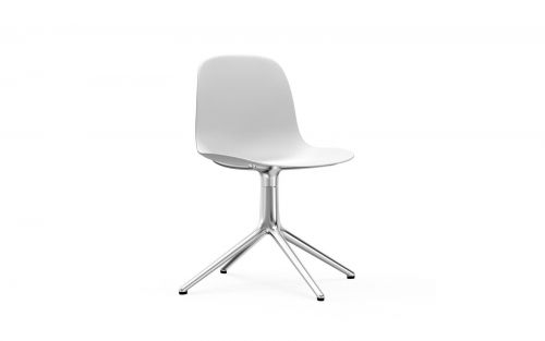 Normann CPH Form Chair Swivel 4L Aluminium