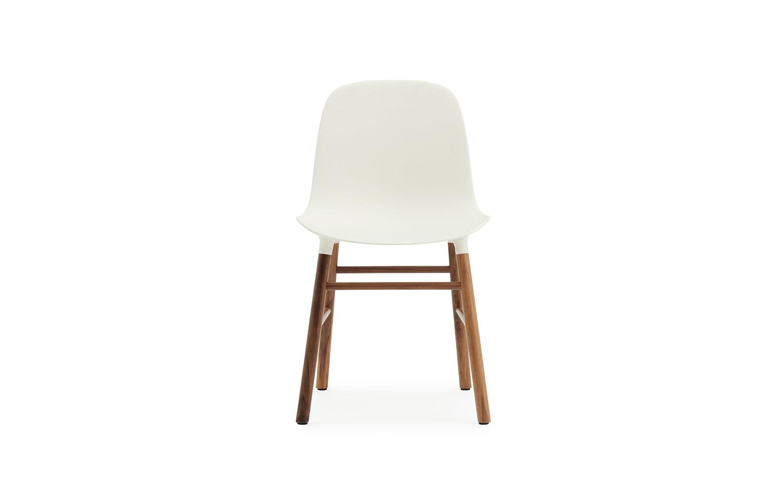 Normann CPH Form Chair Wood Walnut gestoffeerd