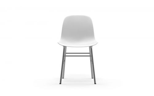 Normann CPH Form Chair Chrome gestoffeerd