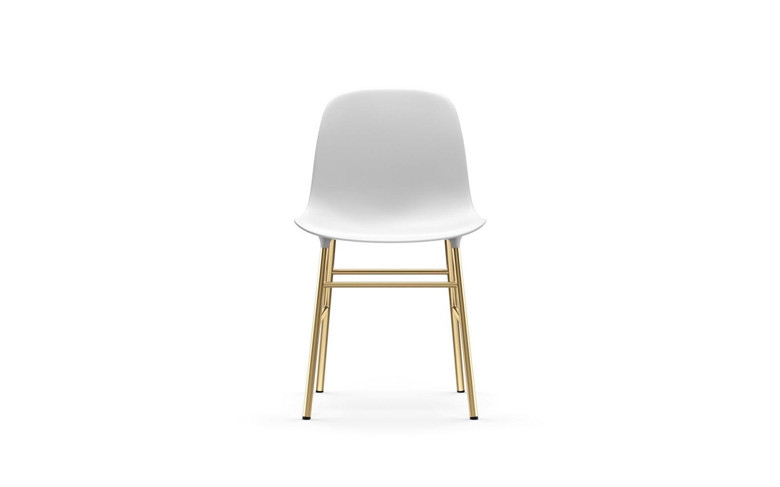 Normann CPH Form Chair Brass gestoffeerd