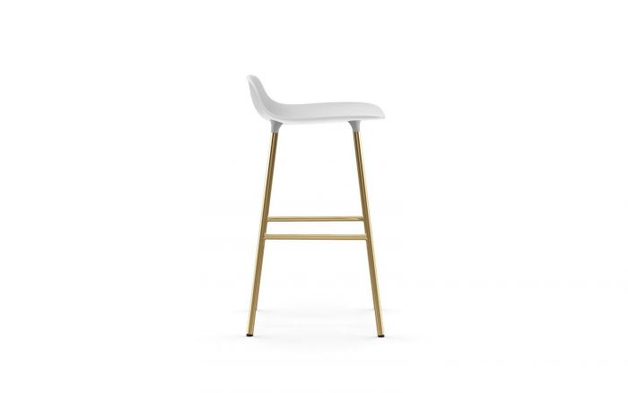 Normann Cph Form Bar Stool 65cm Brass