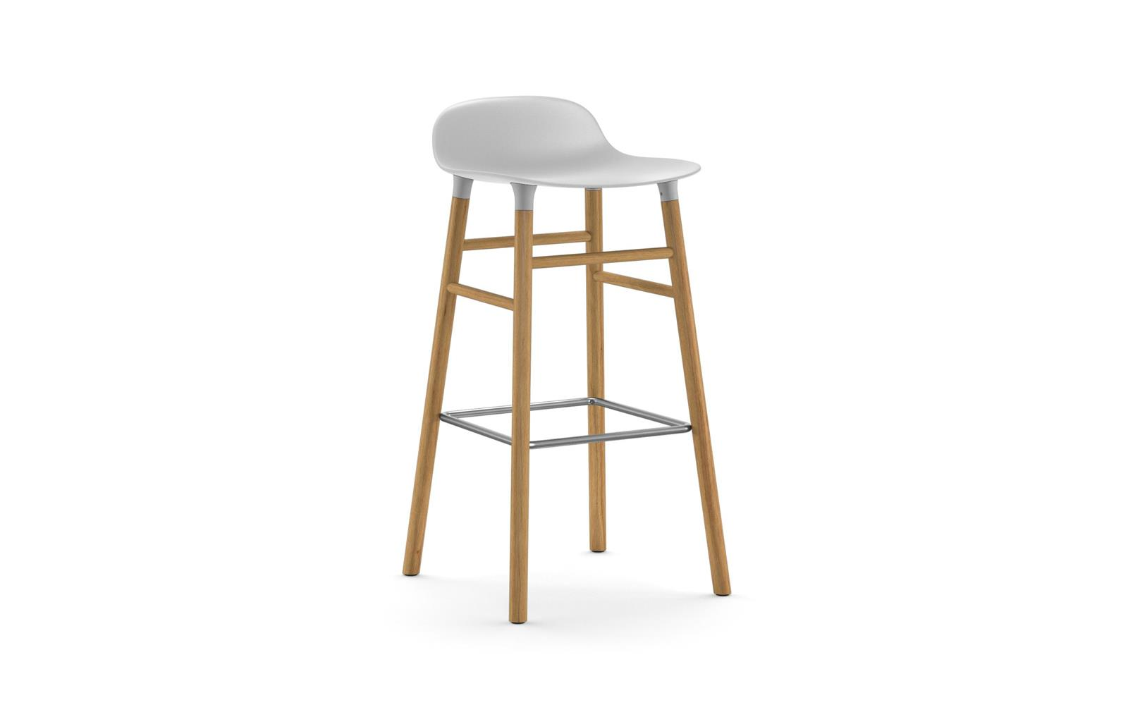 Normann CPH Form Bas Stool 75cm Oak