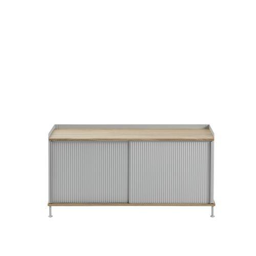 Muuto Enfold Sideboard Low Oak/Grey