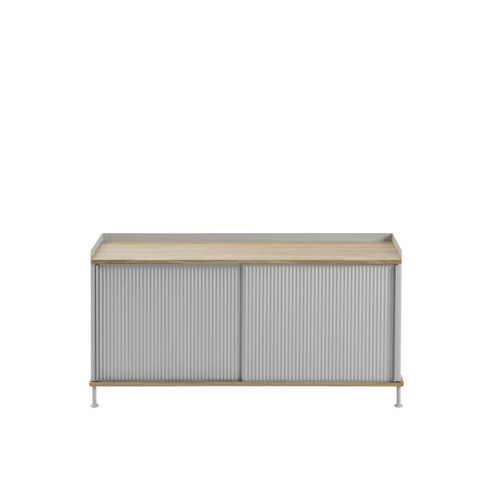 Muuto Enfold Sideboard Low Oak/Grey