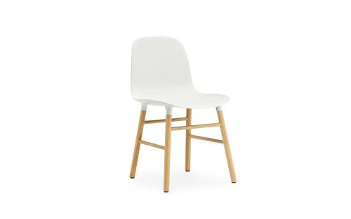 Normann CPH Form Chair Wood Oak gestoffeerd