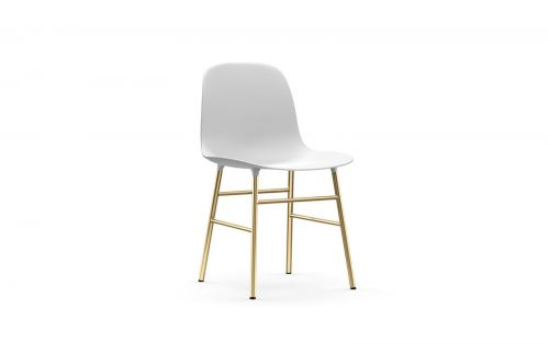 Normann CPH Form Chair Brass gestoffeerd