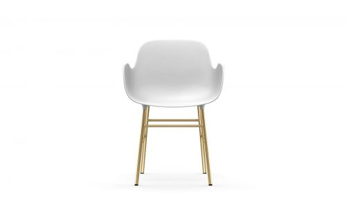 Normann CPH Form Armchair Brass