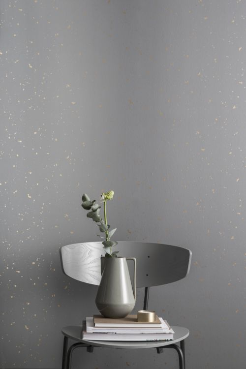 Ferm Living Behang Confetti Grey