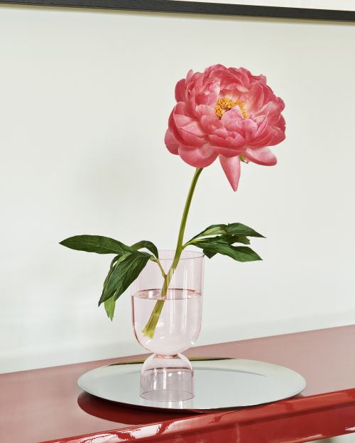 Bottoms up vase S soft pink