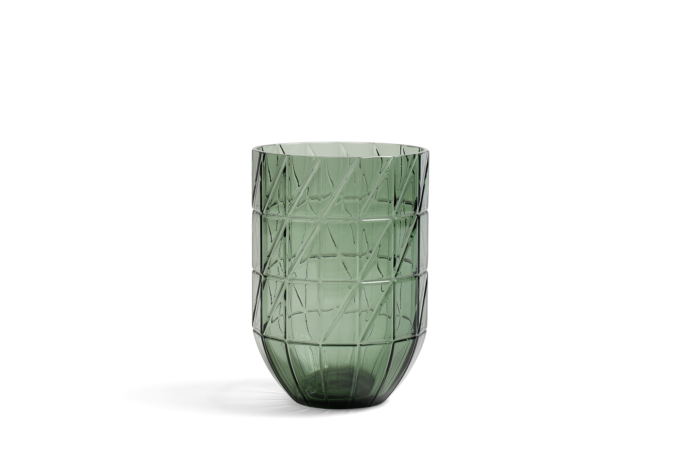 Colour vase L green