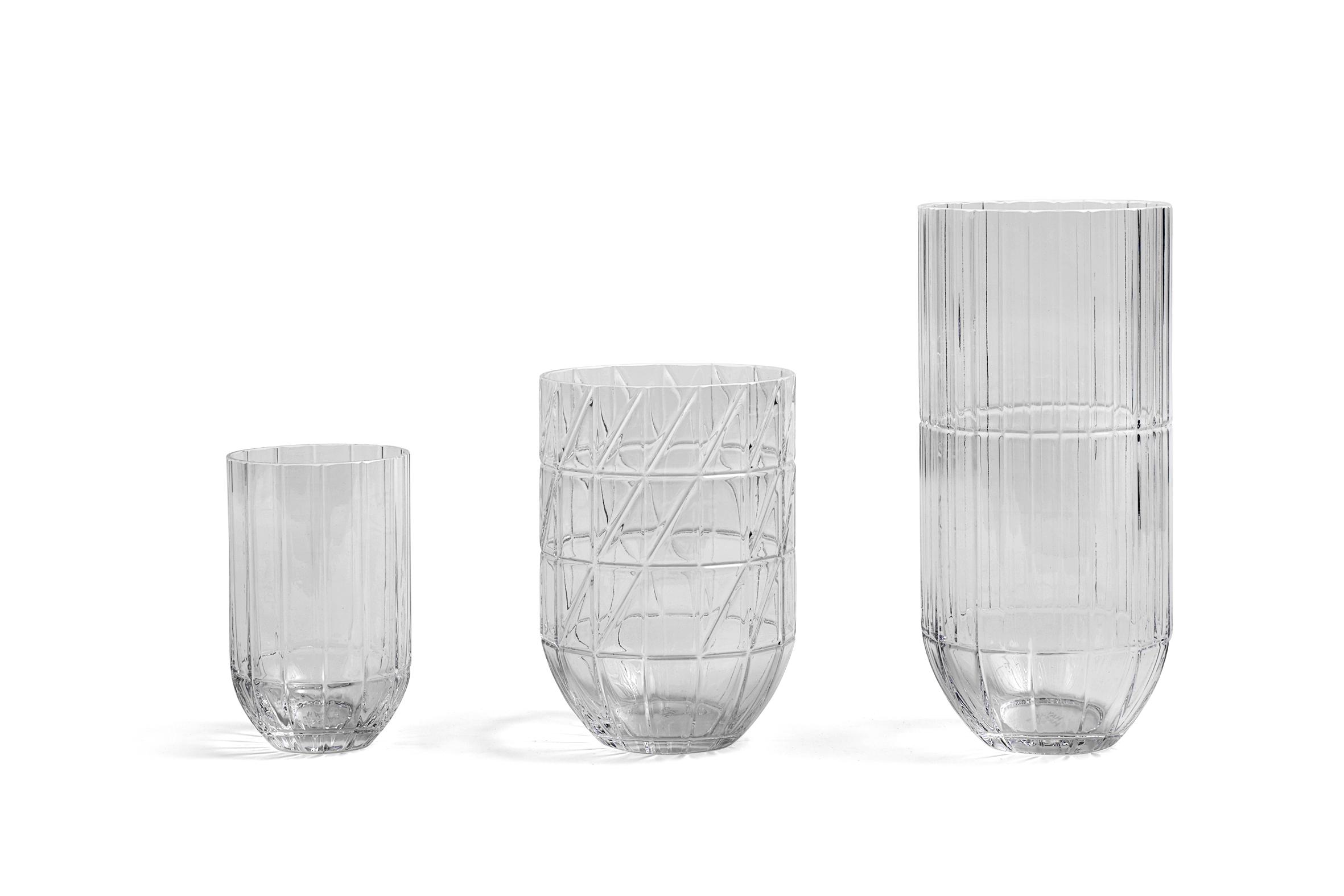 Colour vase M transparent