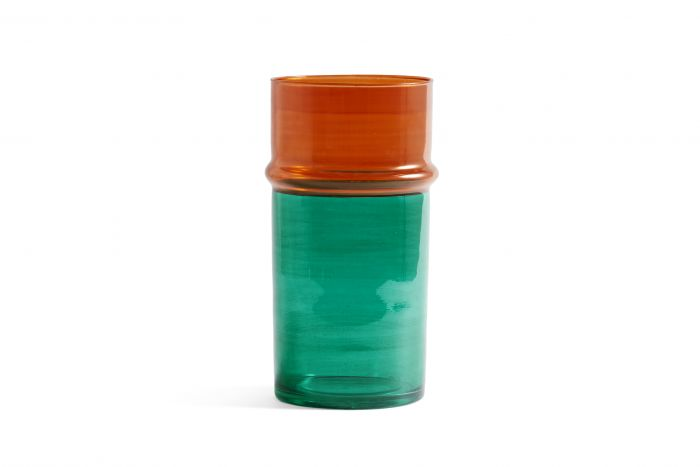 Morroccan vase large green