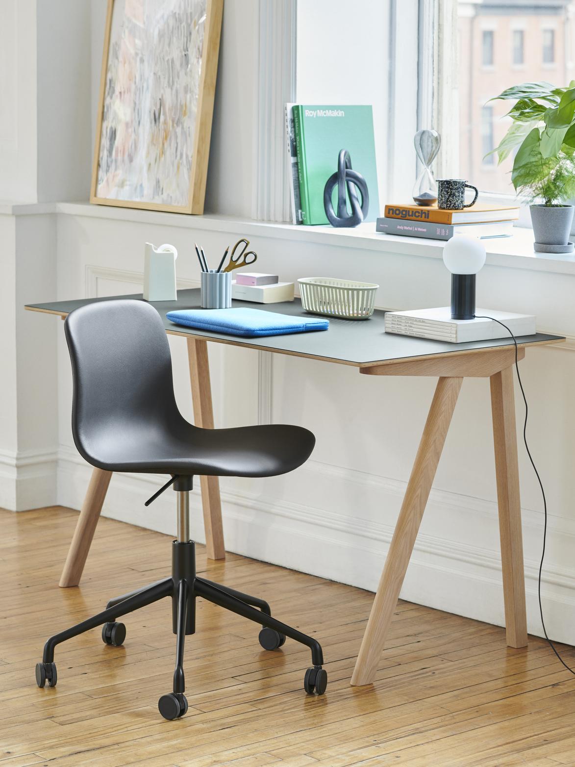 Hay CPH 90 Desk Grey Linoleum Soaped