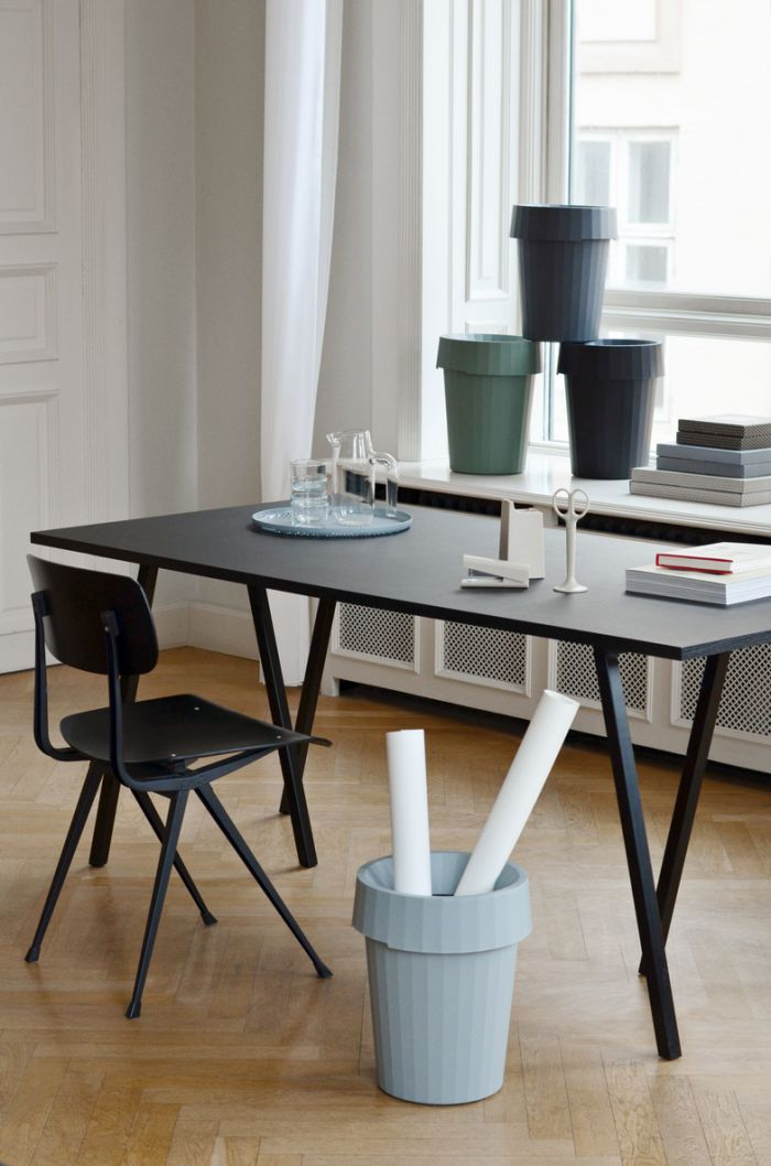 Hay Loop Table Grey 180cm